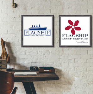 FLAGSHIP LOGO BEFORE AND AFTER